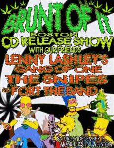 Brunt of It Boston CD Release Show