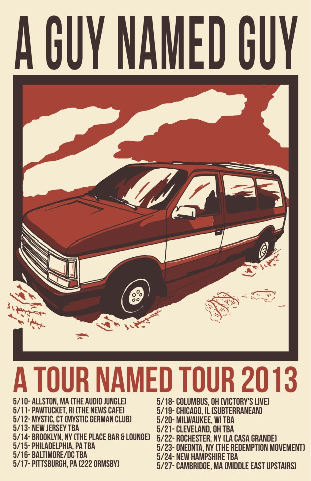 a guy named guy may 2013 tour