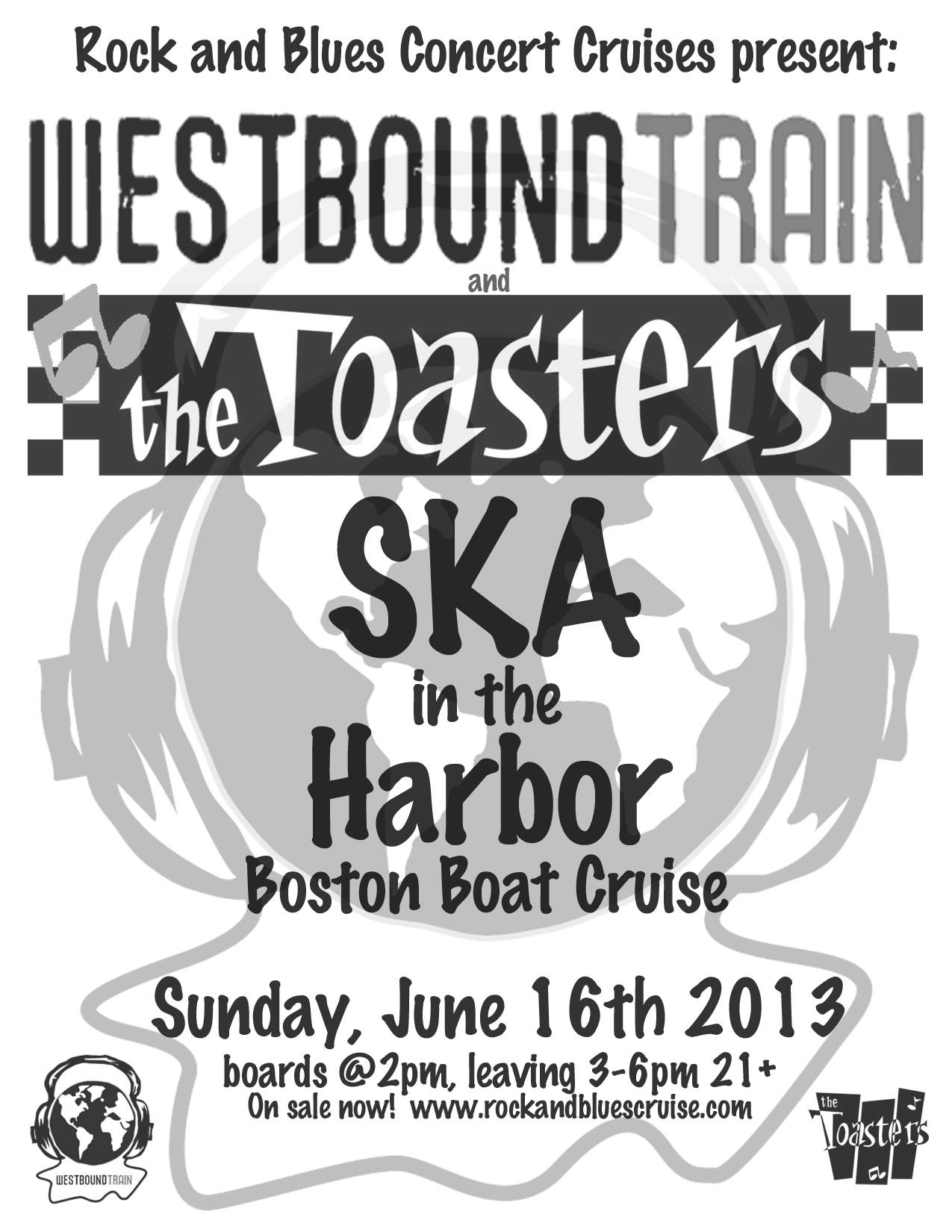 The Toasters and Westbound Train - Ska in the Harbor Boat Cruise
