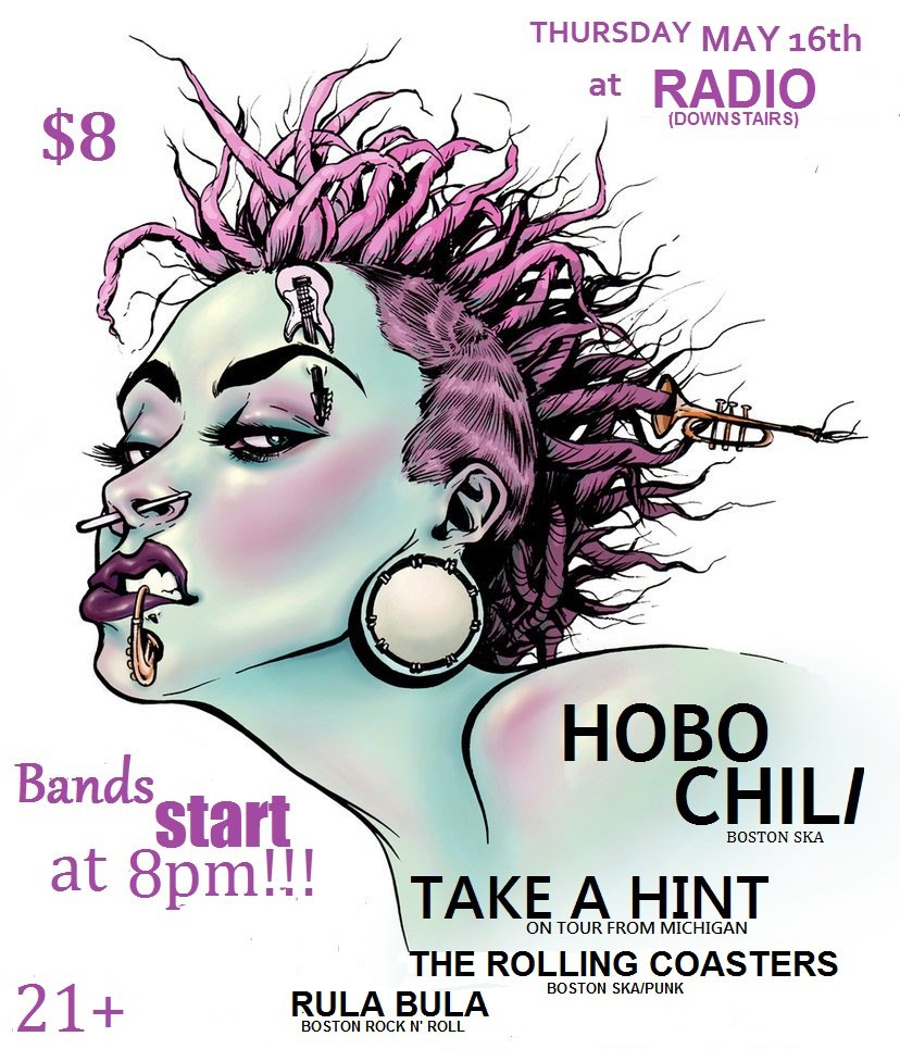 20130516 hobo chili radio downstairs