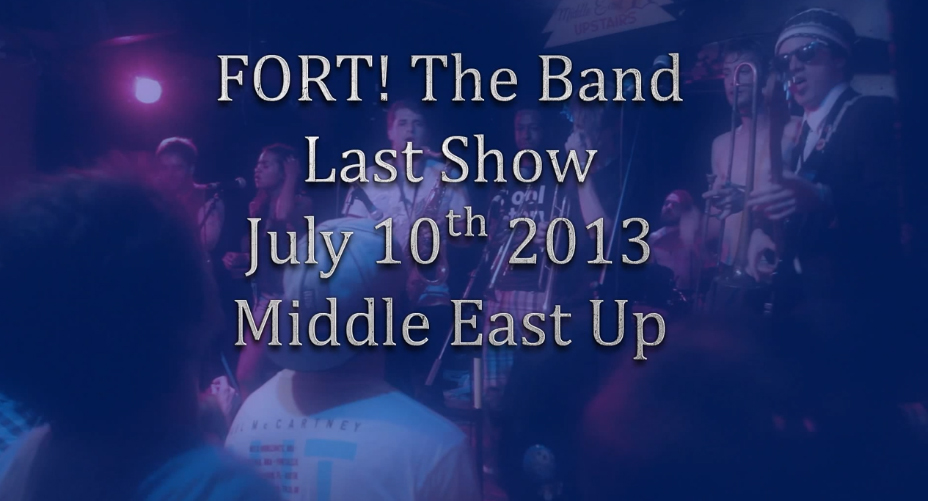 Fort! Last Show