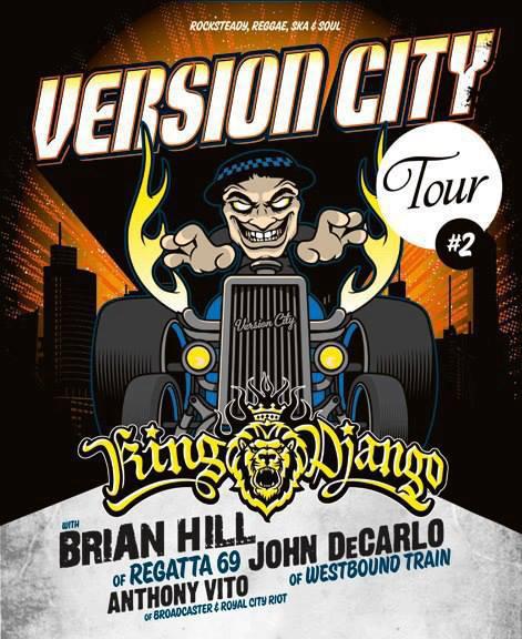 King Django's Version City Tour
