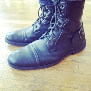 My actual boots.