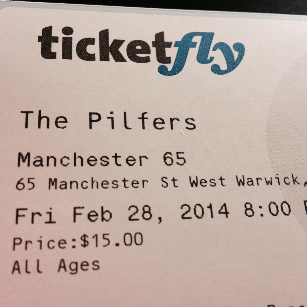 buy pilfers tickets from poor jeremy | boston ska