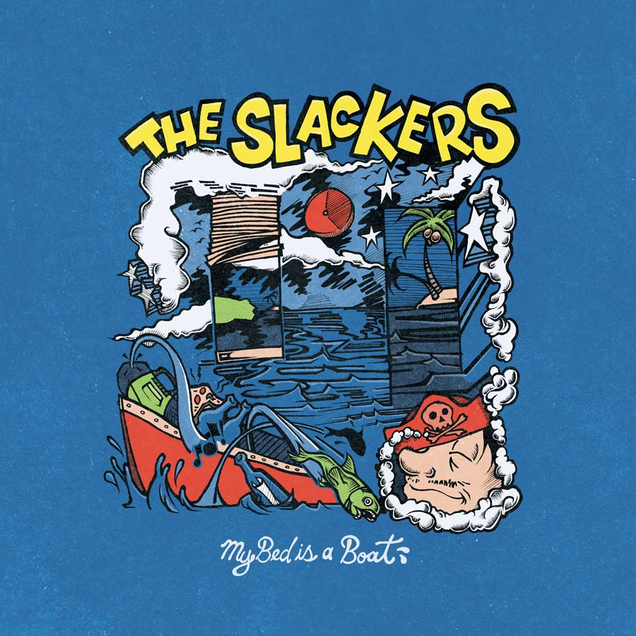 The Slackers | My Bed Is a Boat | Cover Art