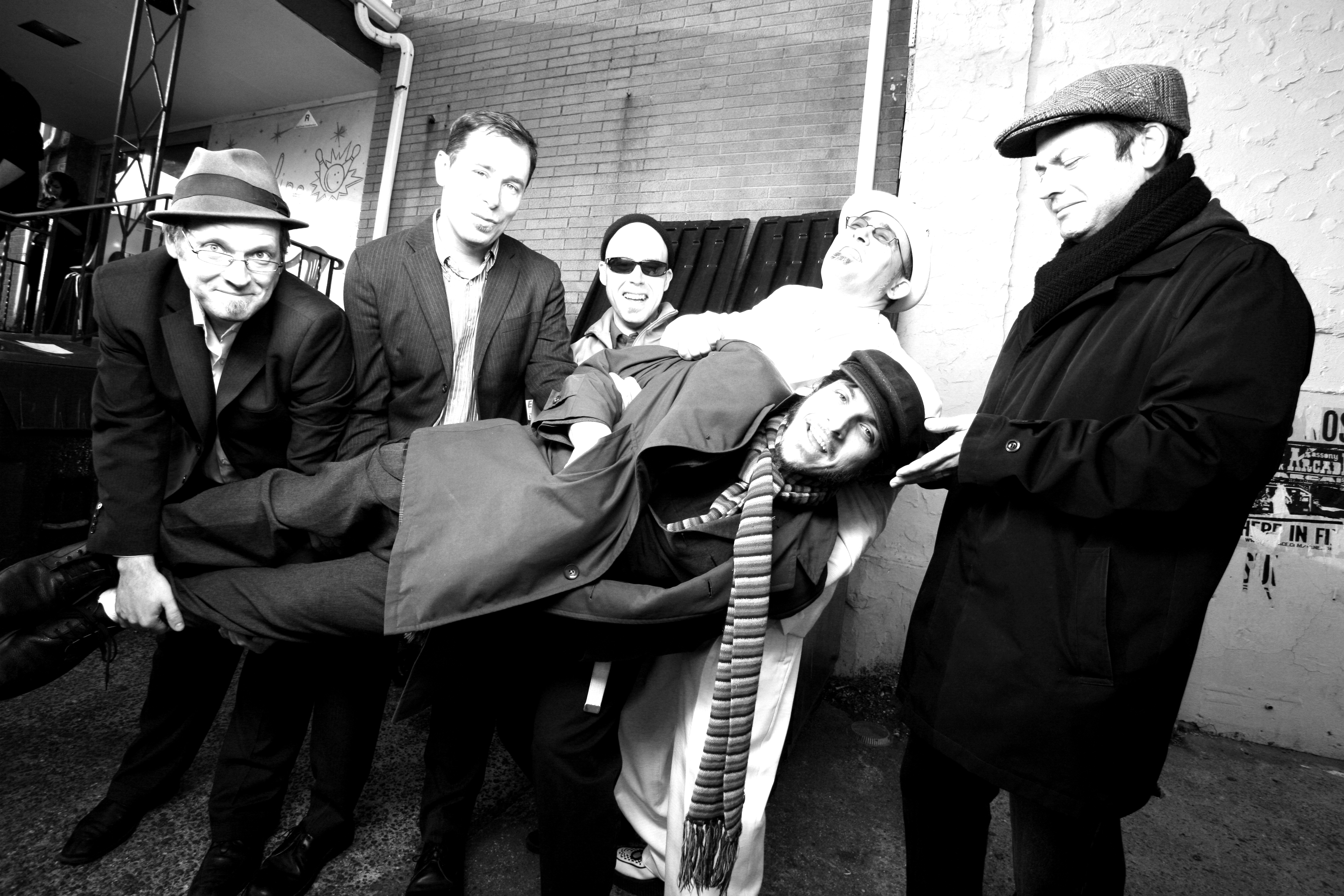 the slackers nyc ska press photo