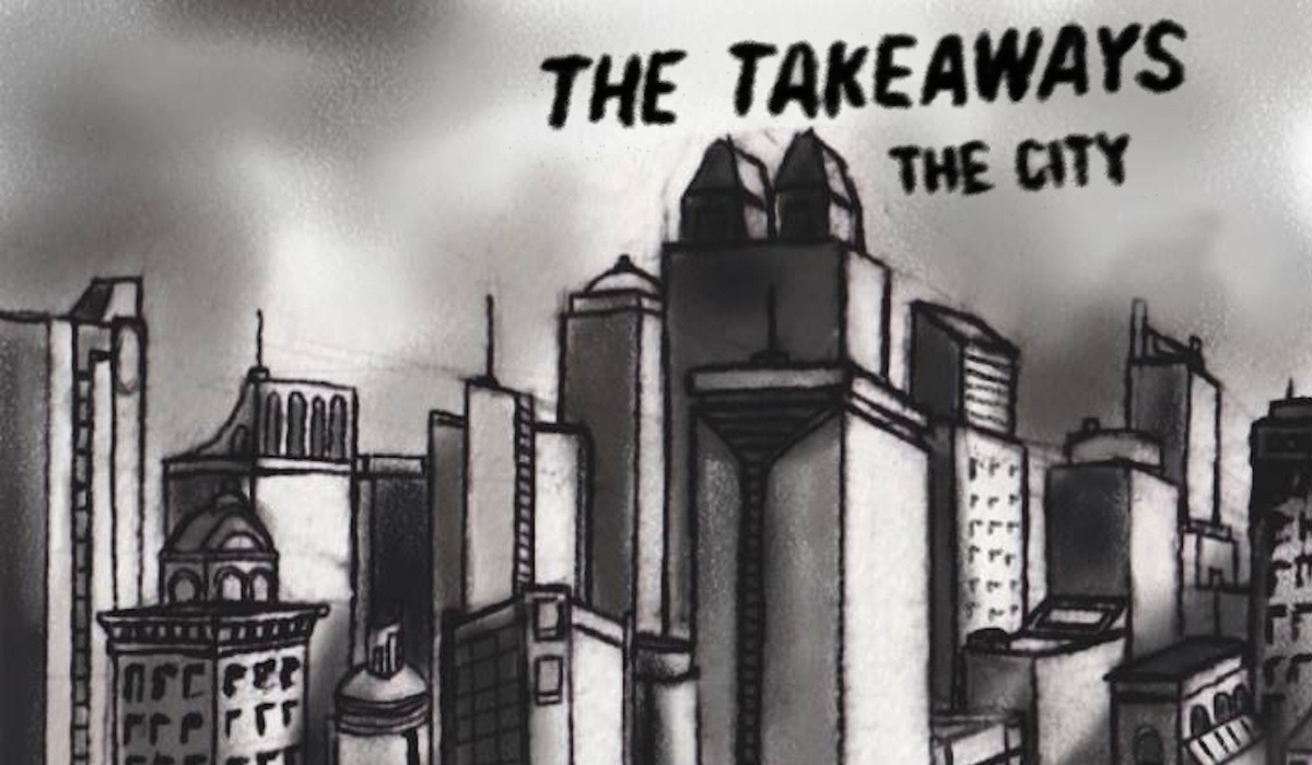 the takeaways - the city - cover art cropped