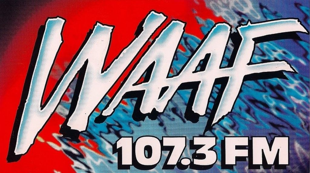 WAAF | Photo via http://radiostickeroftheday.blogspot.com/