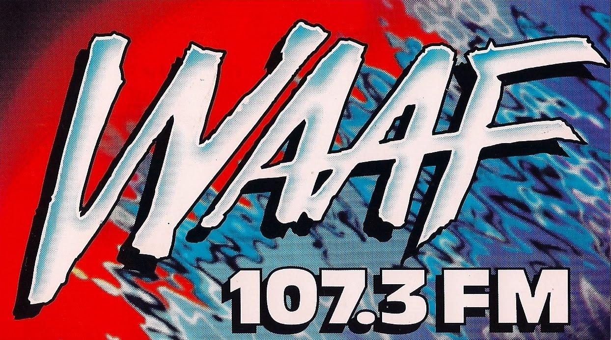 WAAF | Photo via http://radiostickeroftheday.blogspot.com/
