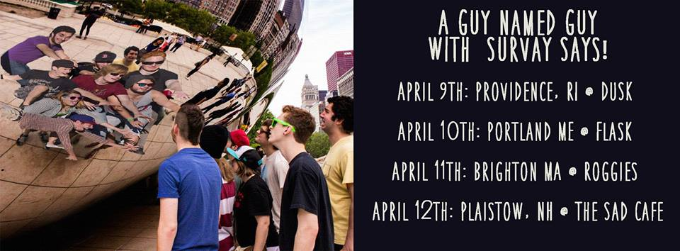 A Guy Named Guy | Survay Says | April Tour | Boston Ska