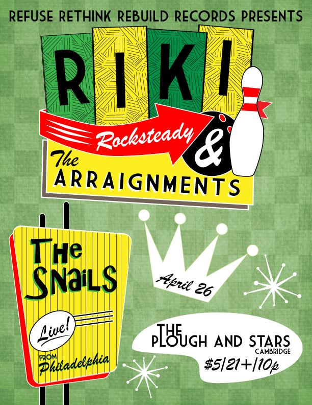 The Snails | Riki Rocksteady | Plough and Stars