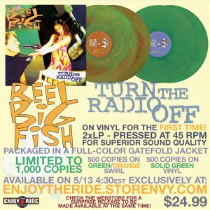 Reel Big Fish Turn the Radio Off Double LP Promo