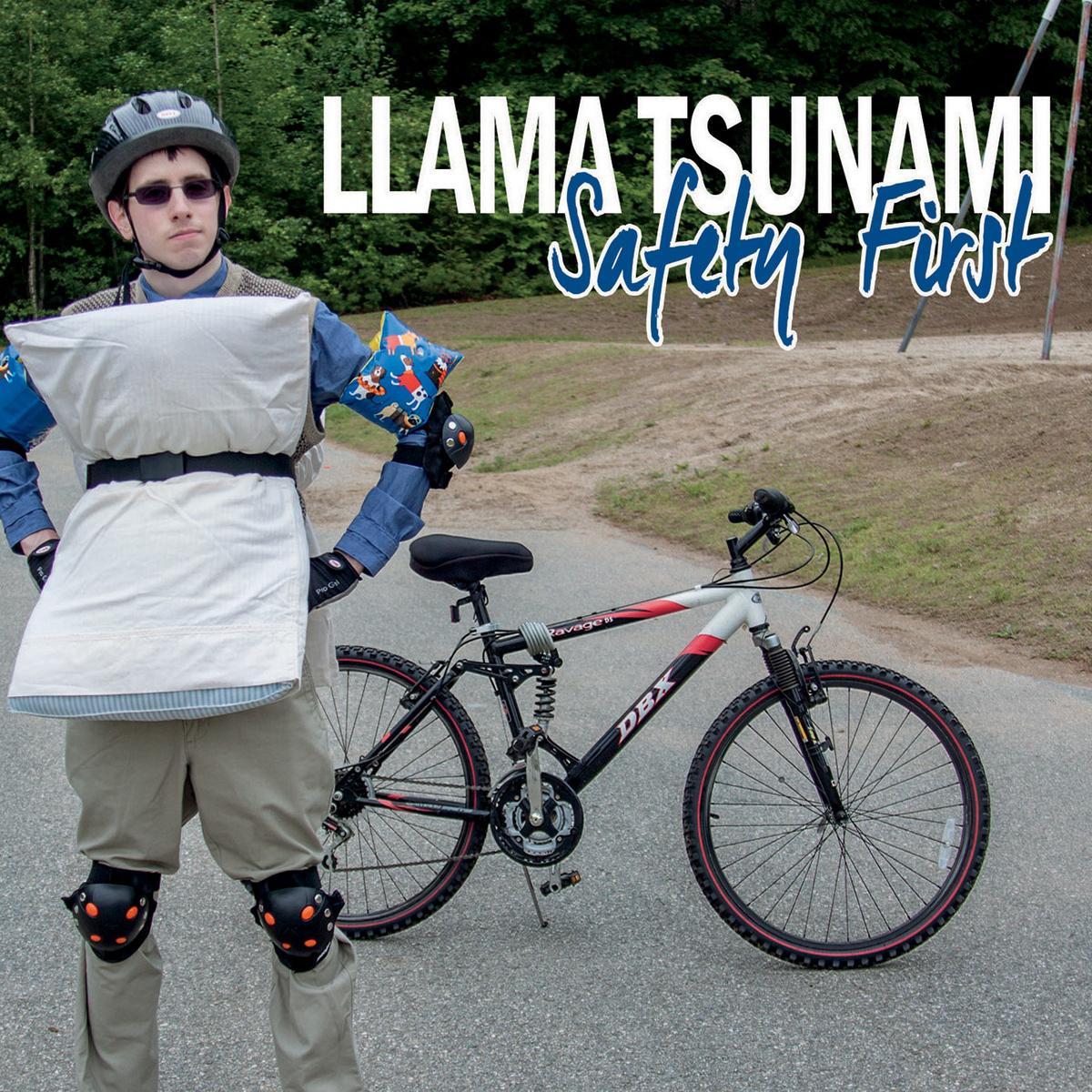 Llama Tsunami Safety First Album Artwork