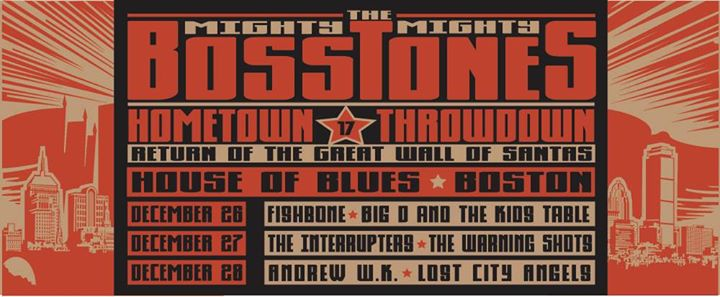 Bosstones 2014 Throwdown banner