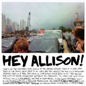 Jeff Rosenstock Hey Allison EP cover