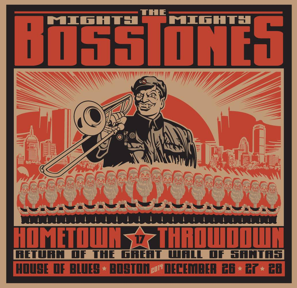 2014 17th Annual Mighty Mighty Bosstones Hometown Throwdown at House of Blues Boston