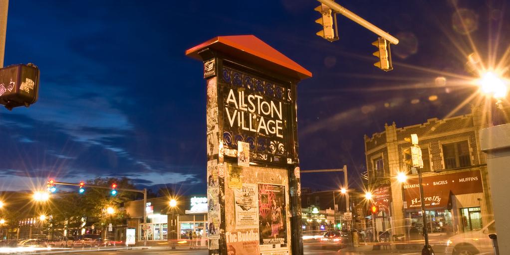"""""""Allston Village"""" by Rich Moffitt is licensed under CC BY 2.0"""