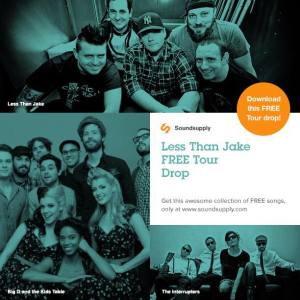less than jake sound supply tour sampler