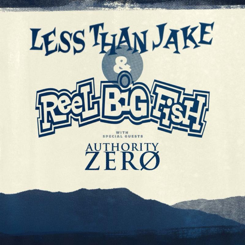 2015 Reel Big Fish Less Than Jake Authority Zero Ska Punk Tour