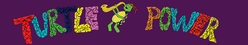 Turtle Power Header