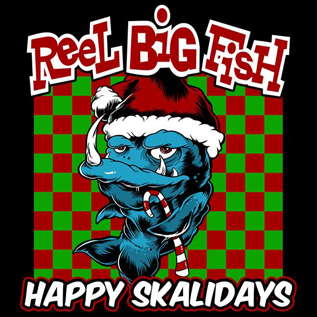 Reel Big Fish Happy Skalidays Album Artwork