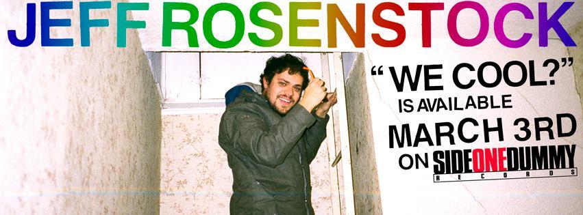 Jeff Rosenstock We Cool Banner