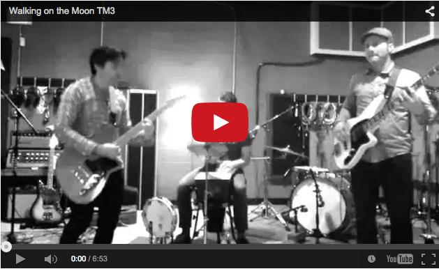 YouTube Screenshot Walking on the Moon Thaddeus Merritt Trio