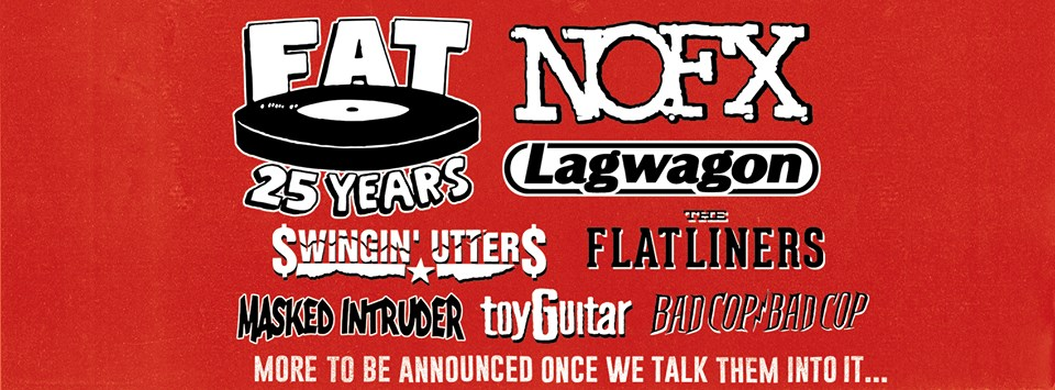 fat wreck chords 25 year anniversary