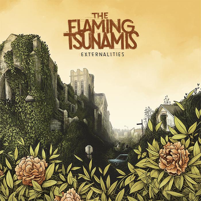 Flaming tsunamis