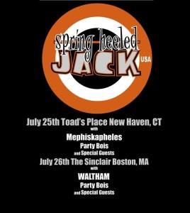 spring heeled jack tour 2015