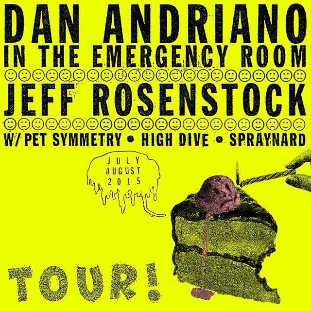 jeff rosenstock dan adriano tour 2015