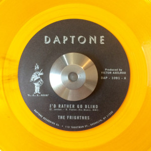 "PRE-ORDER: The Frightnrs - ""I'd Rather Go Blind"""