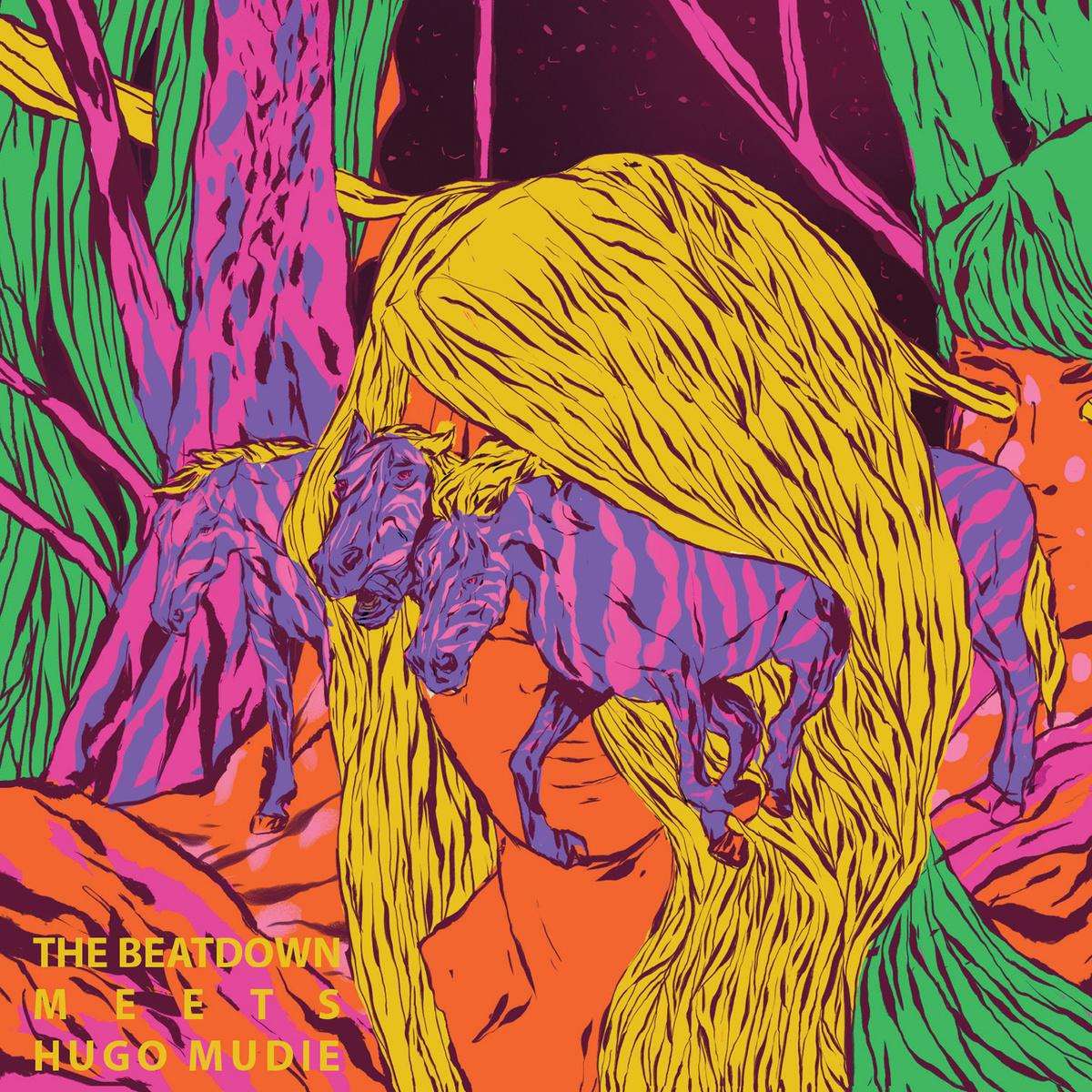 The Beatdown Meets Hugo Mudie Cover Art