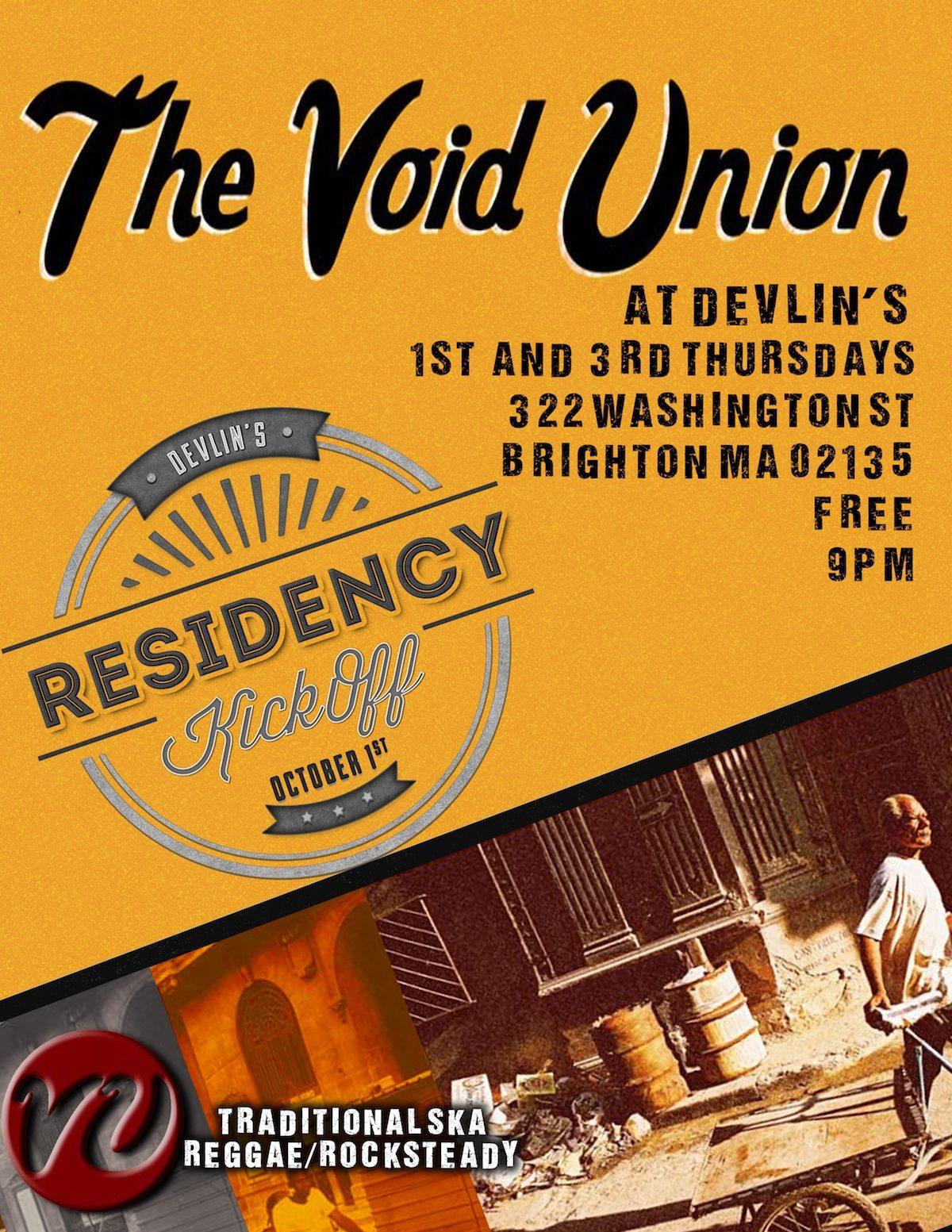 Void Union 2015 Residency