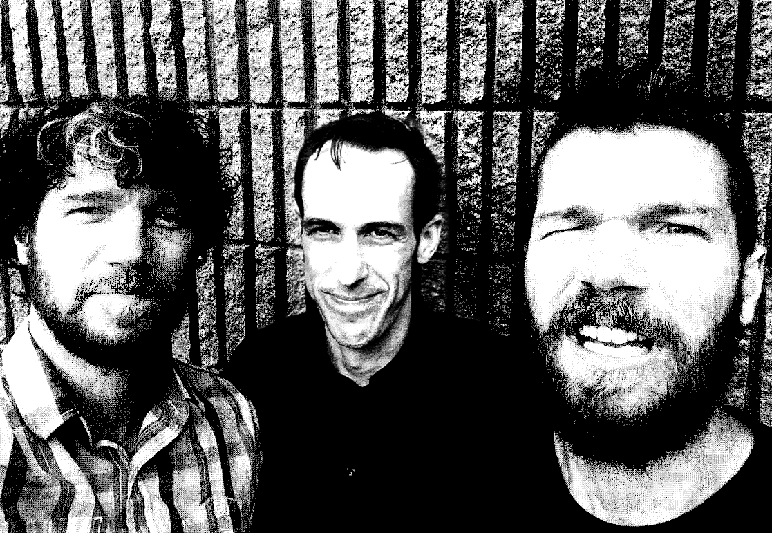 Black and white photo of the band Flying Vipers