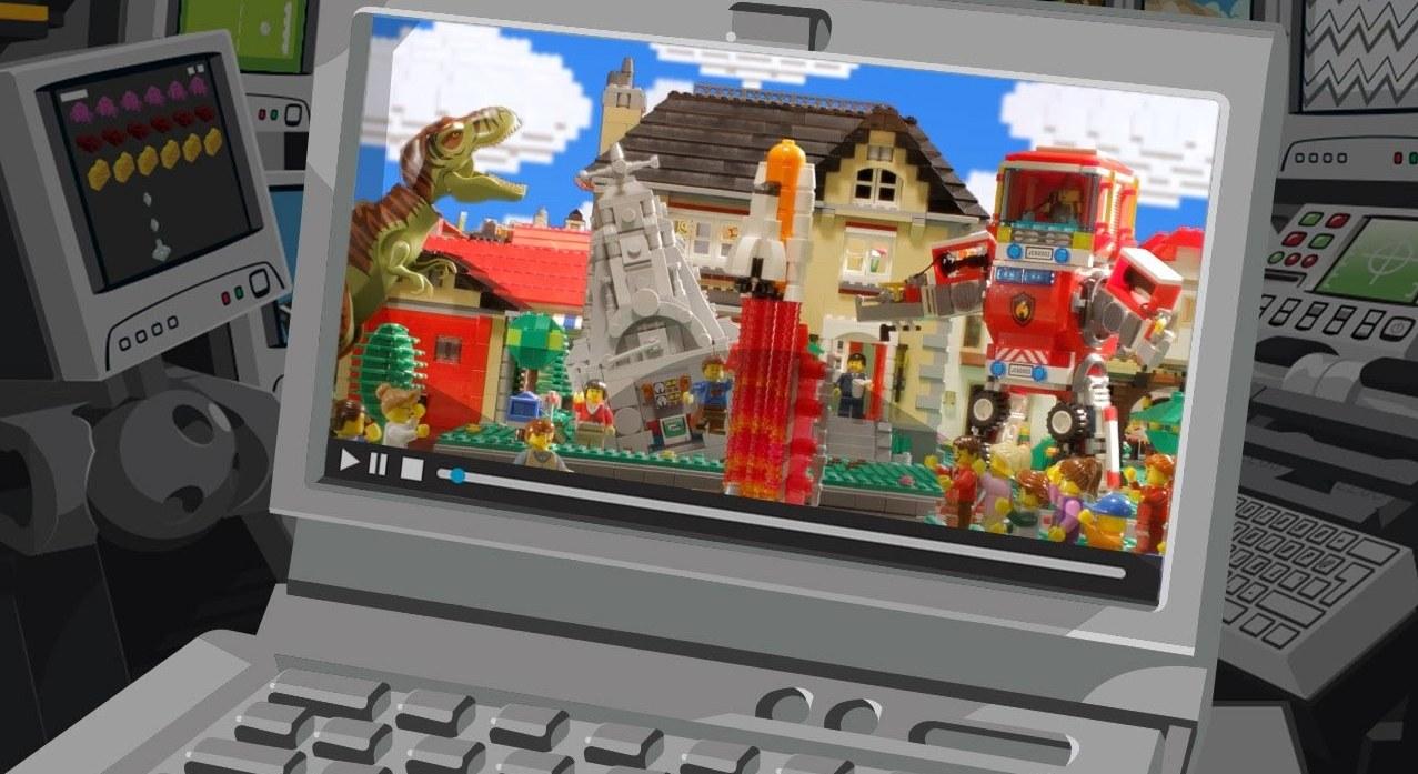 Big D Lego Commercial