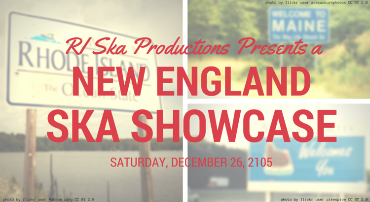 Rhode Island Ska Productions will be hosting showcase of current New England ska bands on December 26th featuring The Copacetics, Sonic Libido, and Hobo Chili.
