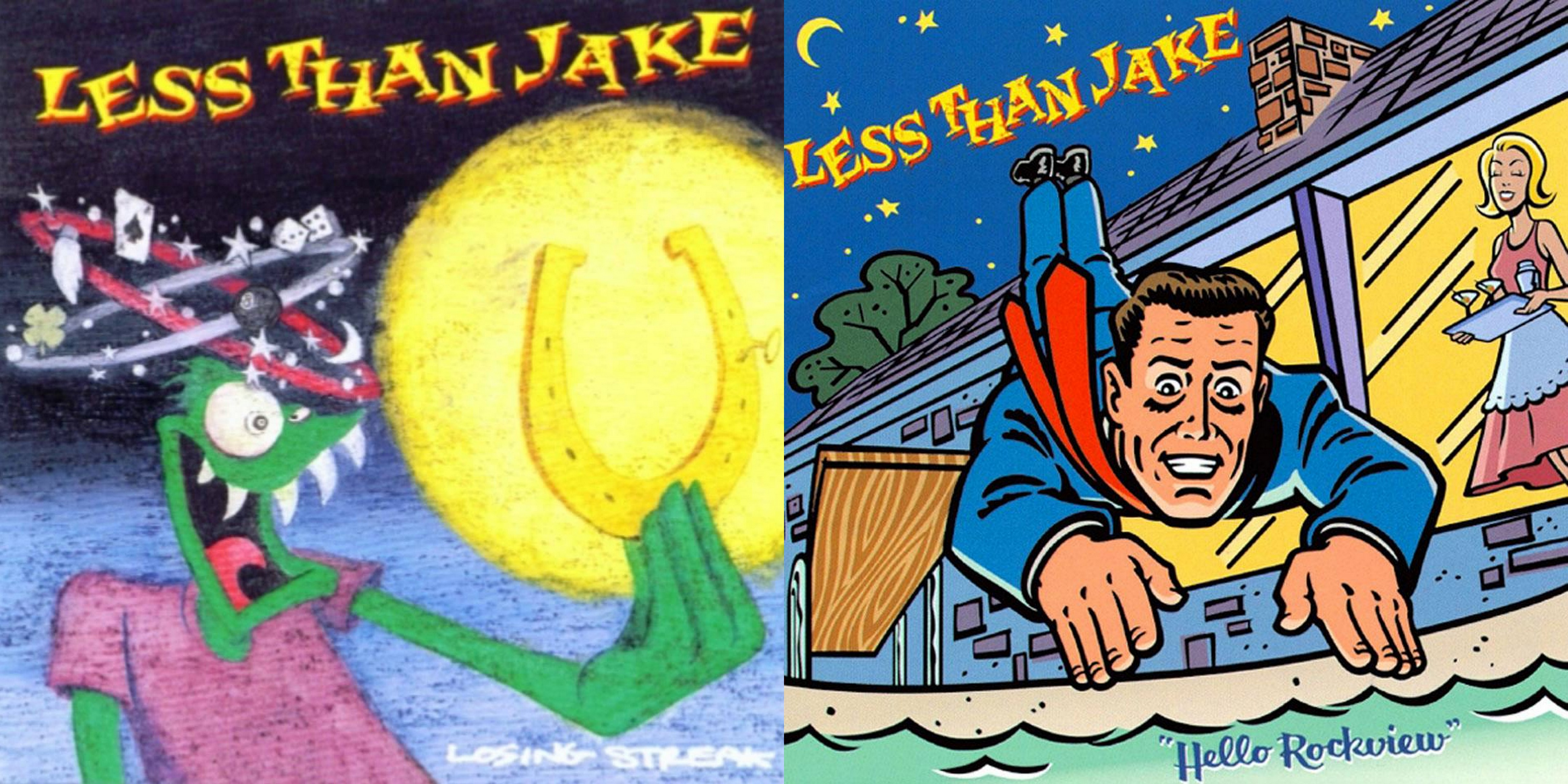 Less Than Jake Repress Popular 90s Records on Vinyl