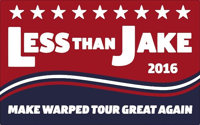 LTJ make warped tour great again Tshirt