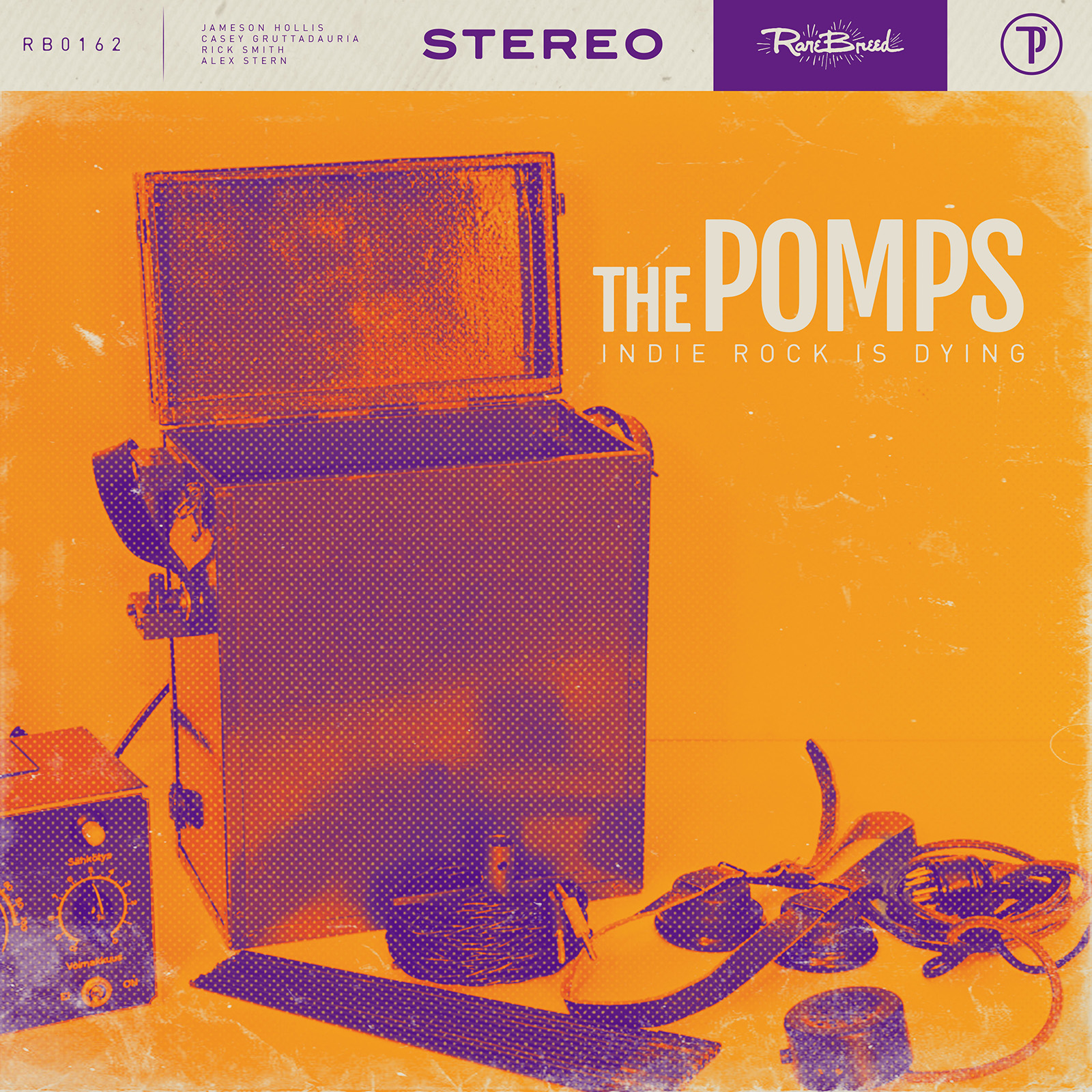 The Pomps Indie Rock is Dying Cover Art