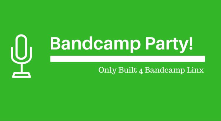 Bandcamp Party header banner