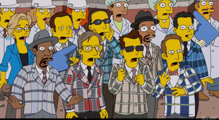 Boston Ska Band The Mighty Mighty Bosstones Make a Camera Appearance on The Simpsons