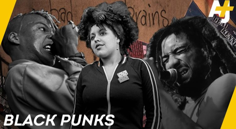 Banner for AJ+ Video about history of black punk rock