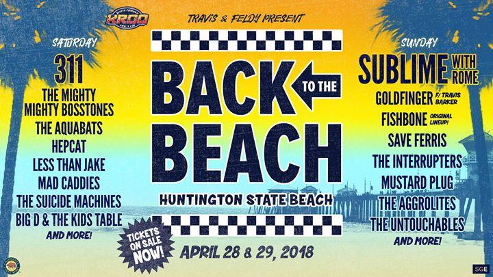 back to the beach ska festival header graphic