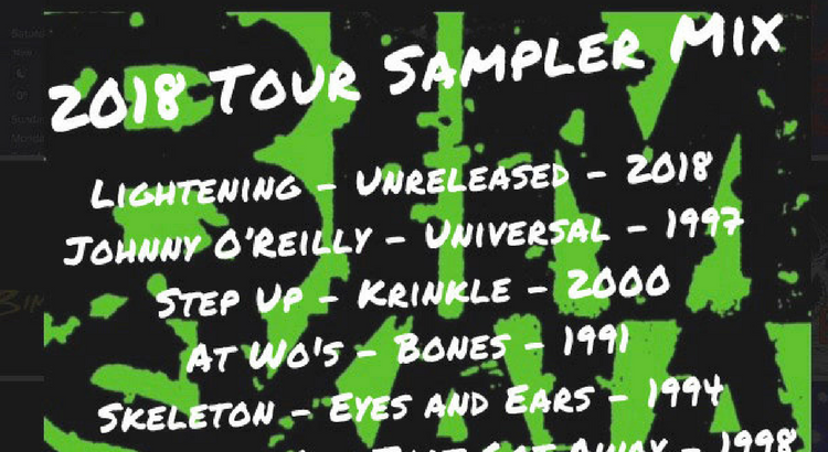 bim skala bim tour mix cover and track list header