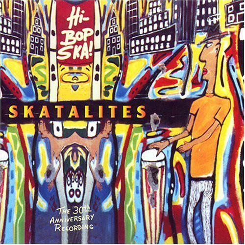 cover art for The Skatalites' Hi Bop Ska