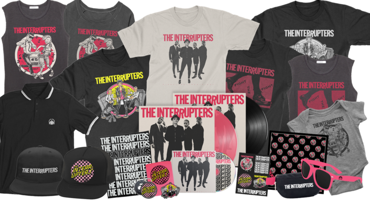 Interrupters Merch Collage