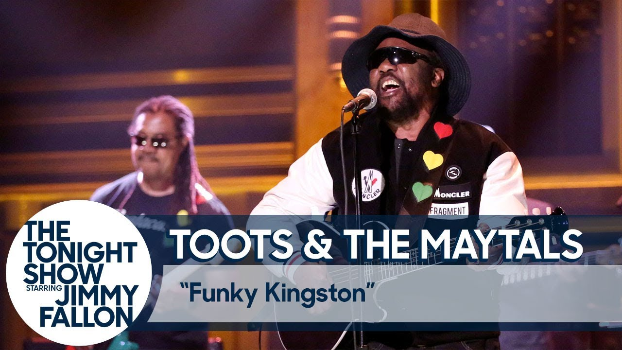 Toots and the Maytals on Jimmy Fallon