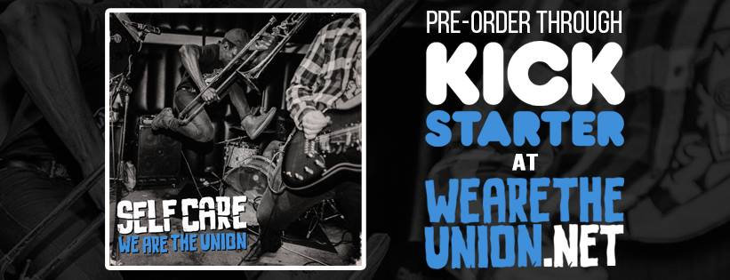 We are the Union Kickstarter Banner
