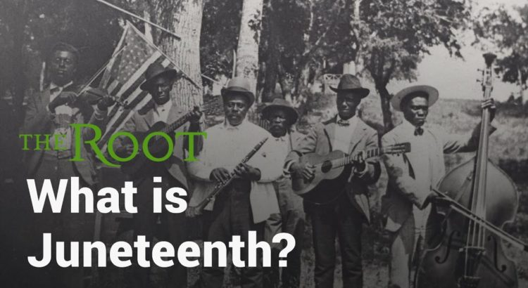 The Root | What Is Juneteenth | Youtube Thumbnail